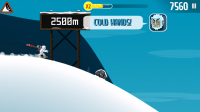 Ski Safari - Ride Yeti's for bonuses and speed
