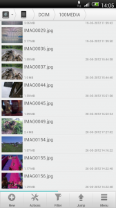 Solid Explorer - Image thumbnails, but no dedicated viewer yet