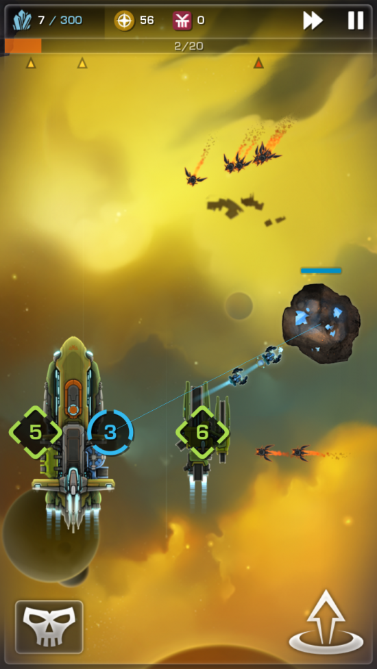 Strikefleet Omega – epic space blaster game!