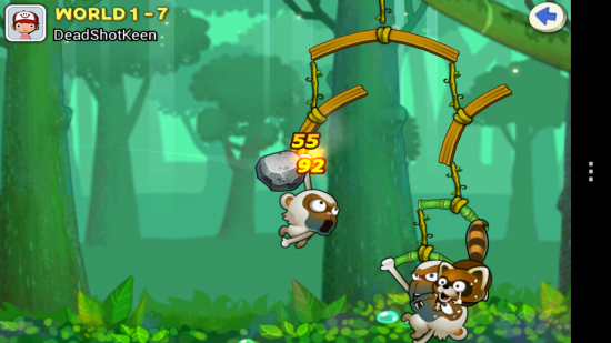 Swing Shot, a crazy multi-player battle game… sling & knock opponent off the swing!