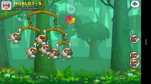 Swing Shot - Your teams of not-so-friendly monkeys