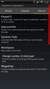 SwipePad - Add-ons