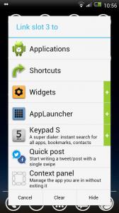 SwipePad - Create shortcut