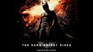 The Dark Knight Rises Splash Screen