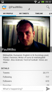 Tweet Lanes - My profile