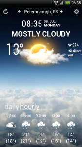 Weather Flow - Rich, hourly forecast