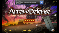 Arrow Defense Start Screen