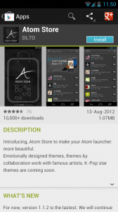 Atom Launcher - Atom Store in the Google Play Store