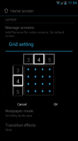 Atom Launcher - Grid setting tutorial