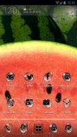 Atom Launcher - Watermelon theme