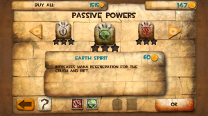 Babel Rising 3D - Passive powers
