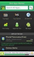 Best Apps Market Main Screen