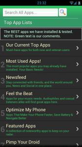 Best Apps Market - Top apps lists