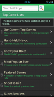 Best Apps Market - Top game lists