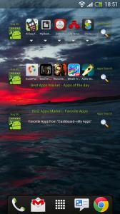 Best Apps Market - Widgets