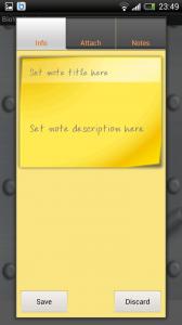 BioWallet - Add notes