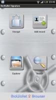 BioWallet - Dashboard