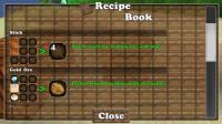 Block Story - Using the recipe book