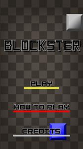 Blockster - Menu