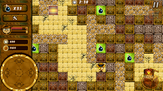 Bombergeddon – play this remake of Bomberman, classic 80's strategy maze game