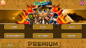 Bombergeddon Premium - Main menu
