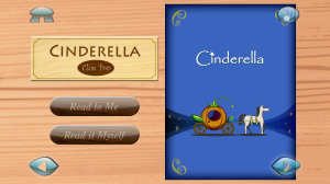 Cinderella 3D Popup Fairy Tale - Options