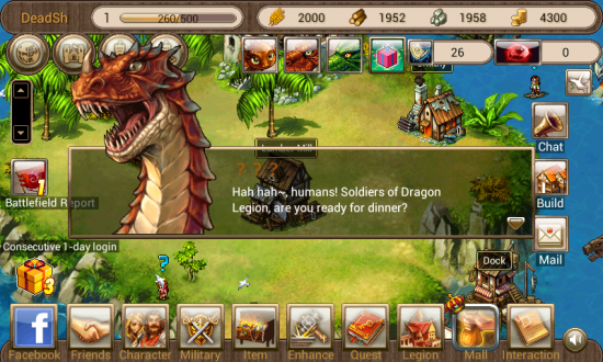 Dragon Kingdom – conquer the quest in this Fantasy Tycoon Strategy game