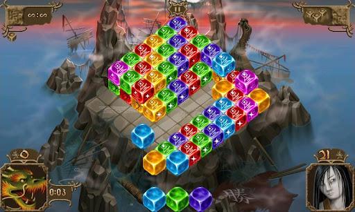 Dragon's Lore – majestic gem-swap puzzle game