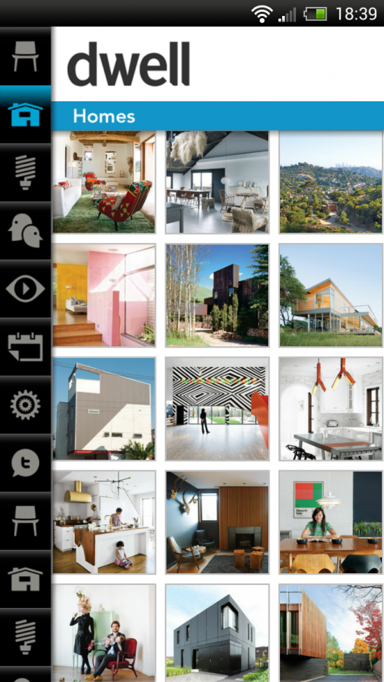 Dwell – beautiful app for architecture & design lovers
