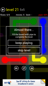 Flow Free - Failed level