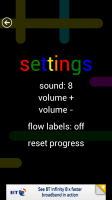 Flow Free - Settings