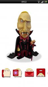 Foneclay - Dracular theme