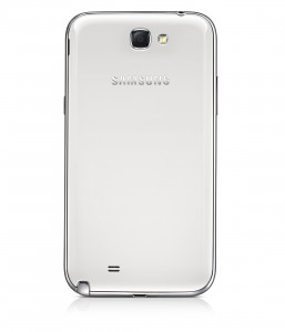 GALAXY Note II Back View