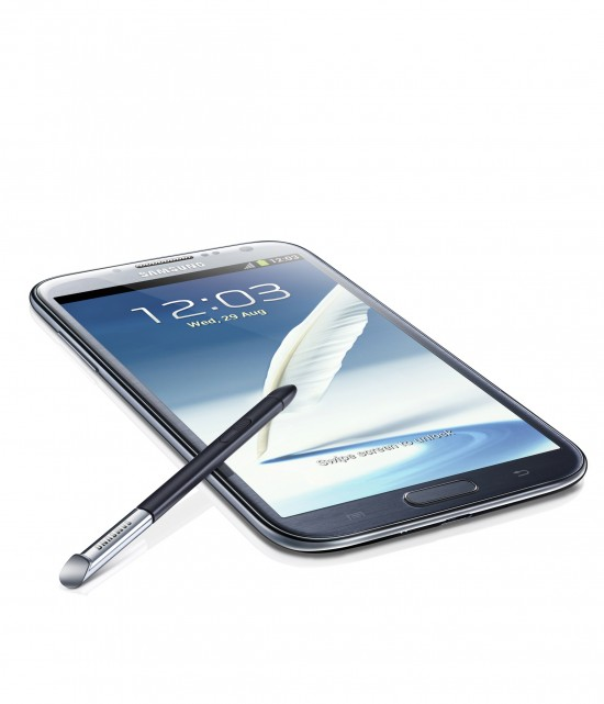 Galaxy Note II hits five U.S. carriers this Fall