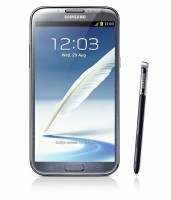 GALAXY Note II with Stylus in Blue