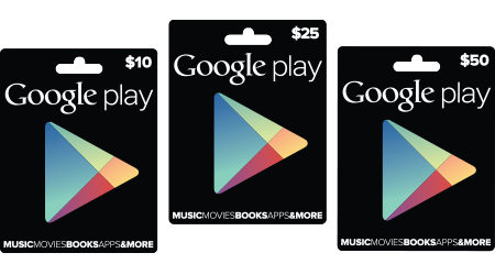 Google Play Gift Cards officially announced