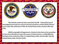 Government Seizure Seal