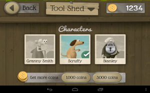 Granny Smith Characters to Unlock in the Tool Shed