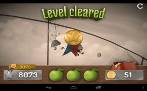 Granny Smith Level Cleared