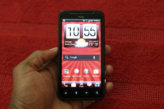HTC EVO V Review, no contract Android smartphone with 3D for Virgin Mobile