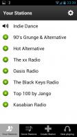 Jango - Your stations