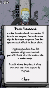 Lab of the Dead - Basic research