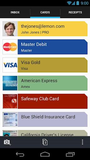 Lemon Wallet – Digital Wallet app to securely store credit cards & receipts
