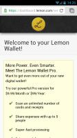 Lemon Wallet - Welcome