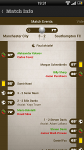 Live Score Addicts - Match events 2