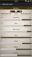 Live Score Addicts - Match statistics