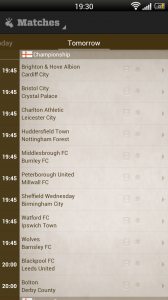 Live Score Addicts - Tomorrows games