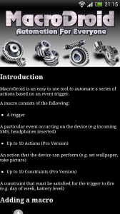 MacroDroid - Intro