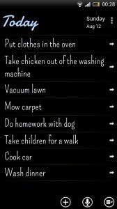 Maniana - Task list