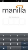 Manilla 4 Digit Pincode in Addition to Password